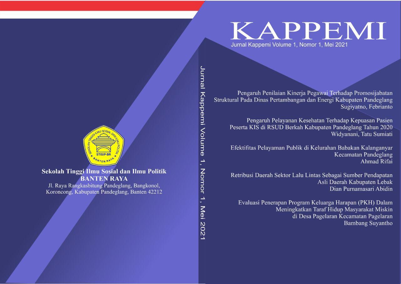 Sampul Publish Volume 1 Nomor 1